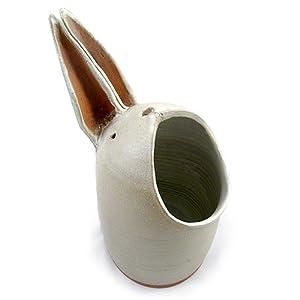 Amazon.com - Americana Bunny Rabbit Spoon Holder / Utensil Caddy