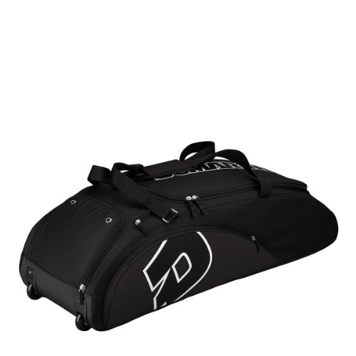 DeMarini Vendetta Bag on Wheels, Black