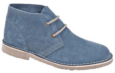 Roamers L777CS Ladies Desert Boots Denim Blue (UK 3)