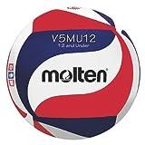Molten Youth Original Design Volleyball, Red/White/Blue