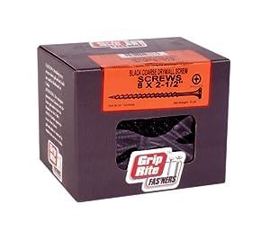 Amazon Com Grip Rite 212cdws5 2 1 2 Inch 8 Coarse Thread