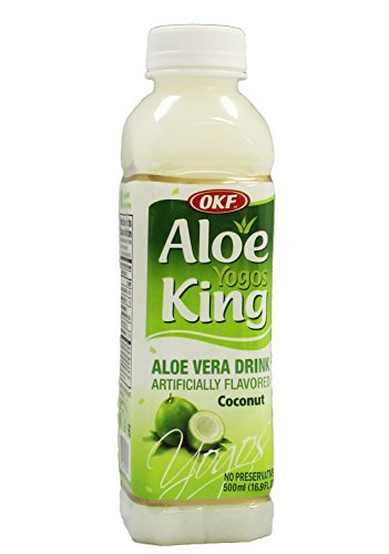 OKF Aloe Yogos King, 16.9 FL. OZ (10 Packs) (Aloe Vera Juice Coconut compare prices)