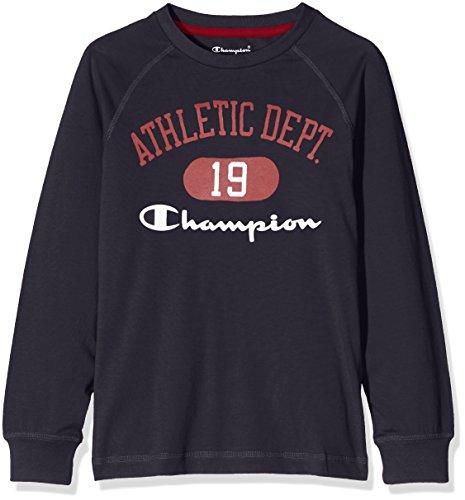 champion-bambino-t-shirt-m-l-auth-cottjerse-blu-xl-304300-f16