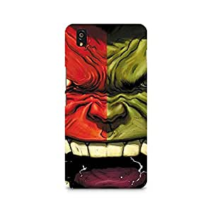 TAZindia Designer Printed Hard Back Case Cover For One Plus X