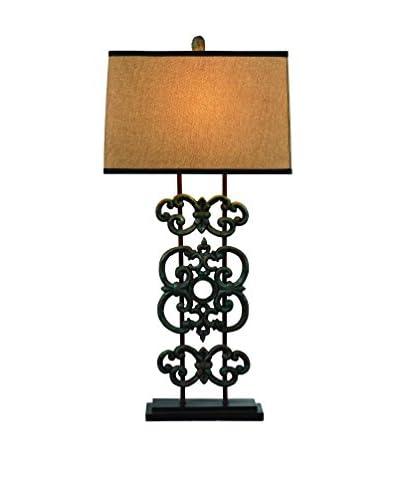 Bassett Mirror Co. Capistrano Table Lamp, Bronze