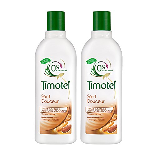 Timotei shampoo 2in1 delicatamente 300ml - Lotto di 2