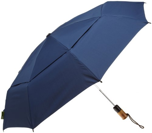 ShedRain Ecoverse Automatic Open And Close Compact Umbrella,New Navy,One Size