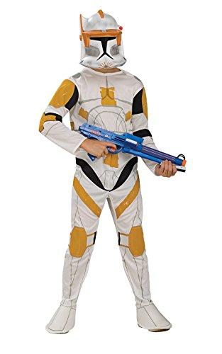 Star Wars Clone Wars Clone Trooper Child's Commander Cody Costume, Medium