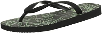 Havaianas Mens 4 Nite Sandals Black Schwarz (black/light grey 2840) Size: 39/40