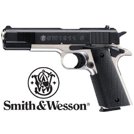 Starter Pistol S&W Model 1911 S 9mm Blank Firing Automatic Pistol