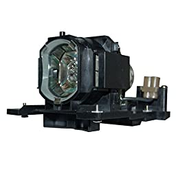 AuraBeam Professional Hitachi CP-X2510E Projector Replacement Lamp with Housing (Powered by Philips)