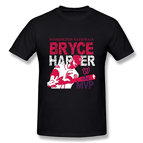 Jade men 39 s t shirts funny bryce harper 34 baseball for Bryce harper mvp shirt