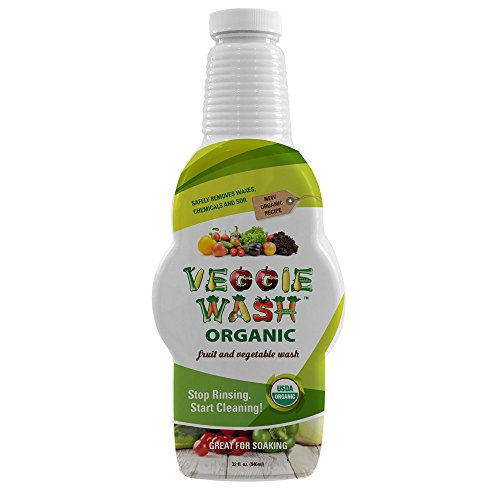 Veggie Wash Organic Fruit and Vegetable Wash Soaker, 32 Fluid Ounce (Organic Fruit And Vegetable compare prices)