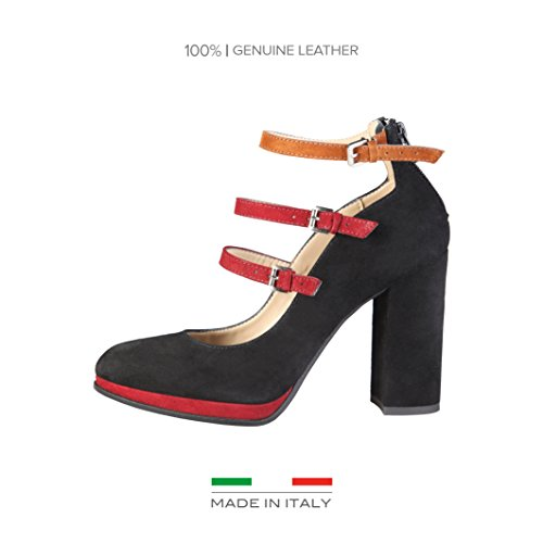MADE IN ITALIA Decollete Shoes NERO EU 39