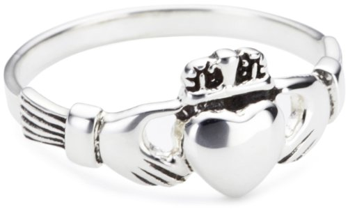 Heritage Sterling Silver Celtic Small Irish Claddagh