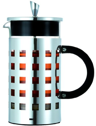 GROSCHE Casablanca Premium French Press 34oz Chrome Finish