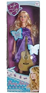 Taylor Swift Pretty Melody Fashion Collection Doll With Purple Dress