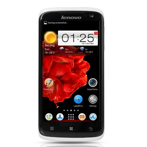 4.7-Inch Lenovo S820 Unlocked Smartphone(Hd 1280*720) -Ips Screen Quad Core Mtk6589 1.2Ghz Android 4.2 4Gb Rom 2Mp/13Mp Camera 3G Wcdma Dual Sim Phone (Rooted+Google Play)