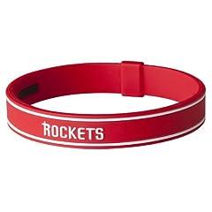 Phiten Titanium NBA bracelet - Houston Rockets - 7 1 2 by Phiten
