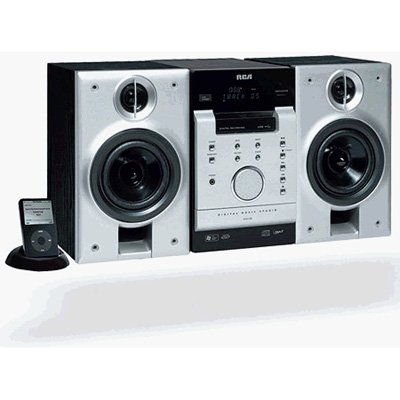 RCA MP3/Wma/Usb/Ipod Dock CD/100w Micro System