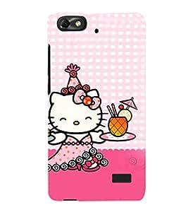 EPICCASE Cuty Kitty Mobile Back Case Cover For Xiaomi Redmi Mi4c (Designer Case)