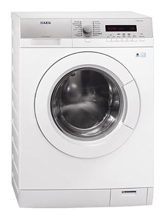 AEG L76485FL Waschmaschine Frontlader / A+++ / 1400 UpM / 8 kg / silber