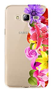 WOW Transparent Printed Back Cover Case For Samsung Galaxy J3