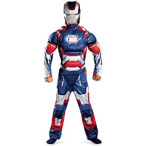 Iron Patriot Classic Muscle Kids Costume