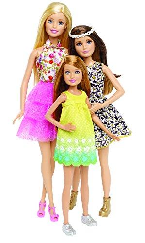 Mattel Barbie CLV04 - Barbie e le sue sorelle - Avventura coi cani, 3 bambole