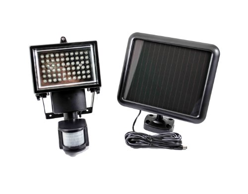 60 Led Solar Powered Security Motion Sensor Flood Light