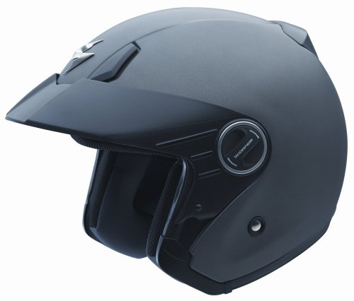 Scorpion EXO-200 Solid Matte Anthracite X-Small Open Face Helmet