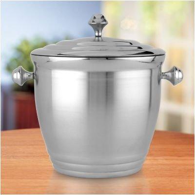 091709436030 - Lenox 6228134 Tuscany Classics Metal Ice Bucket, carousel main 0