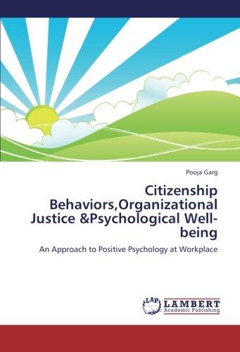 Citizenship Behaviors,Organizational Justice