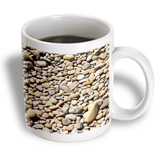 Henrik Lehnerer Designs Nature - River Rock Pebbles With Shades Of Different Gray - Stone, Nature, Pattern, Round, Zen, Abstract - 15Oz Mug (Mug_157569_2)