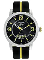 Tommy Bahama RELAX Men's RLX1217 Beach Cruiser Round Case Yellow Detail Dial Strap Watch from Tommy Bahama RELAX