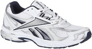 Reebok Men's Pheehan Running Shoe,White/Silver/Navy,8 M US