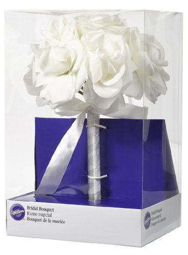 Wilton 120-1335 Bridal Bouquet for Wedding, White
