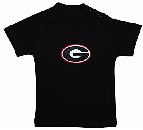 Georgia Bulldogs Black NCAA College Toddler Baby T-Shirt Tee