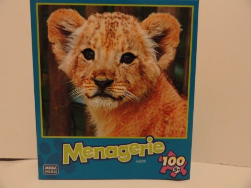 Menagerie 100 Piece Jigsaw Puzzle - Lovely Lion - 1
