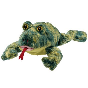 TY Beanie Baby - CROAKS the Frog