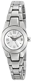 Relic Womens ZR34206 Payton Micro Silver Tone Stainless