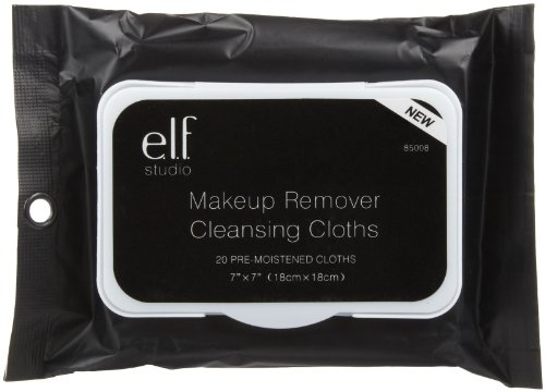 e.l.f. Makeup Remover Cleansing Cloths, 20 Count