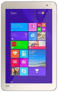 "Toshiba Encore 2 WT8-B264 - 8"" Tablet - 64GB, Dual Cameras, Windows 8.1, WiFi & Bluetooth - Satin Gold"