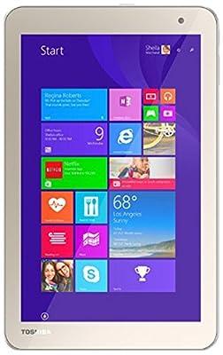 "Toshiba Encore 2 WT8-B264 - 8"" Tablet - 64GB, Dual Cameras, Windows 8.1, WiFi & Bluetooth - Satin Gold"