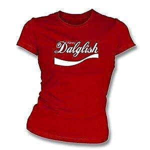 Kenny Dalglish (Liverpool) Enjoy-Style Women's Slim Fit Football T-shirt (X-Large)