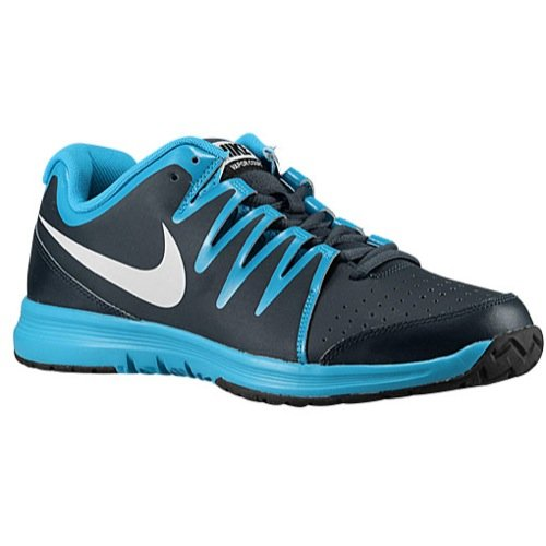 Nike ,  Scarpe da tennis uomo gris fonce-bleu-blanc