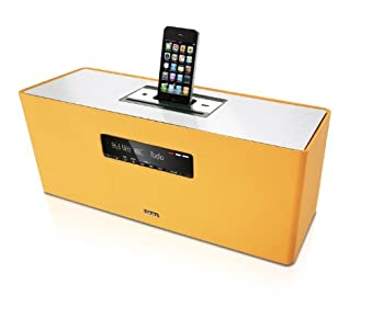 Review and Buying Guide of Buying Guide of Loewe SoundBox Audio System with CD/FM Radio and iPod/iPhone Dock - Orange