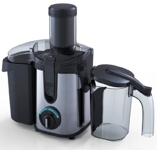 Charles Jacobs 2.0L ELECTRIC Whole FRUIT JUICER Compact 800W POWER in Black, comes with BRUSH for cleaning +12 months WARRANTY from Charles Jacobs