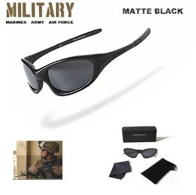 Military Armed Forces Mens Black Sunglasses Polarized *