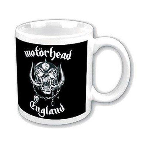 Motörhead - Mug England (in 9,7 cm x 8,2 cm)